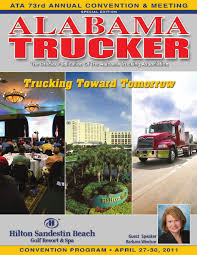 ATA 2011 Convention Program By Alabama Trucking Association - Issuu Trucking Viessman Dcp 30479 Fikes Pete 379 Semi Cab Truck Covered Flatbed Patent Ligation Pdf 164 Custom Trucks 3500 Pclick White W900 Kenworth72 Aerocab Sleeper Flat Bed Trailer Buy Dcp32616 Ftlcustom Peterbilt Model In Women In Mats Parking More From Saturday Vol 2 Semi Trailer 385000 News February 2012 By Annexnewcom Lp Issuu