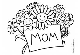 Free Printable Mothers Day Coloring Pages At GetColoringPages
