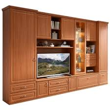 stralsunder jasmund wohnkombination eb31507 siebensteilige wohnwand mit schrank lowboard überbau und aufsatzetementen für wohnzimmer dekor