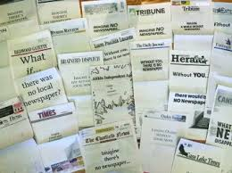 More Than 220 Of The States Newspapers Participated In A Program Printing Blank Front Pages