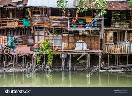 100 Homes In Bangkok Peoples On Still River Stock Photo Edit Now