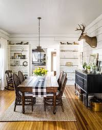 This 100 Year Old Antique Farm Table Is An Ideal Fit For The Pass Through Dining Room