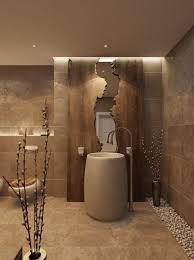 badezimmer in braun sind klassisch dekoration diy