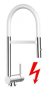 weiß niederdruck küchenarmatur edelstahl stahlfeder chrom 2 strahl handbrause küchenmischer unterfenster abklappbare absenkbare vorfenster