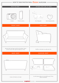 Plastic Sofa Covers At Walmart by How To Order A Custom Handmade Slipcover Online From Comfort Works