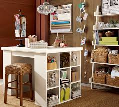 Finding Inspiration: Craft Room Ideas | Room, Craft And Pottery Set Up A Play Area For Your Kids With Craft Tables And Chairs Desks Pottery Barn Studio Wall Desk Bedford Gallant All Yeah Shanty Then In Table 364618 Project Corner With Fniture Copy Cat Chic For 20 Lovely Bestofficefnitureview Design Impressive Office Mesmerizing Floating