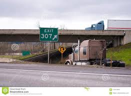 100 Directions For Trucks Big Rig Semi Going In Different On Highway Exit