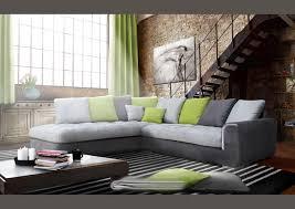 jetée de canapé d angle acheter votre canapé d angle moderne coussins jetés gris et vert