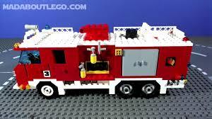Lego Fire Trucks - Lego Custom Lego Ladder Fire Truck Lego Brigade ...