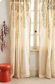 Ebay Curtains 108 Drop by Cleopatra Gold Embroidered Sheer Curtain Pattern U0026 Embroidered
