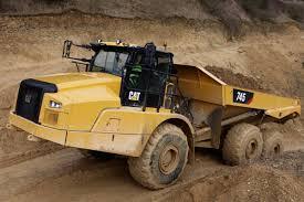 100 Haul Truck HAUL TRUCK New Cat 745 Has Next Generation Cab Stability