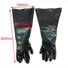 Abrasive Blast Cabinet Gloves by Aliexpress Com Buy 1 Pair 60cm Durable Sandblasting Gloves Heavy