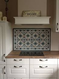 zementfliesen als spritzschutz zuhause diy haus küchen