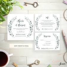 Wedding Invitation Supplies Diy Stationery Melody Gold Foil Floral