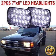 PAIR CREE H6054 7x6 LED Headlights Sealed Beam For Toyota Pickup ... 52017 F150 Anzo Led Switchback Outline Projector Headlights Mack Rd Ch Sfa Some Sba Freightliner Mt Rv Utilimaster Penske Makes Trucklite Standard For United Pacific Industries Commercial Truck Division Round Sealed Low Beam Headlamps Pair Set Chevy Pickup Land Cruiser Fj40 Fj55 Minitruck Of 2 Xenon Headlights American Truck Simulator Smoked Black 1116 Ford Super Duty Halo Gorecon Pair Cree H6054 7x6 Toyota 4piece Signal Marker Lamps Replacement Gmc Next Generation Scania With Shing Editorial Purple Volvo Fh Semi Trailer Stock Image