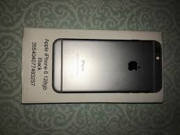 UNLOCKED iPhone 6 128GB gold newly refurbished received from