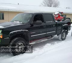 100 What Size Tires Can I Put On My Truck Size Tire Will Fit Under A Leveled 2500HD Chevy And GMC
