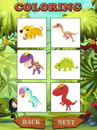 Dinosaurs Coloring Book Game For Kids Screenshot 7