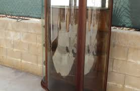 Curved Glass Curio Cabinet by Dreadful Art Cabinet Of Curiosities Slot Horrible Cabinet Yves De