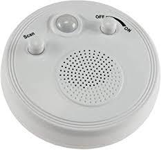 radio mit bewegungsmelder 360 sensor ø 95mm batterie 3x aa