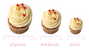 8 Different Size Cupcakes Photo