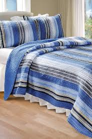 Greenland Home Bedding by Greenland Home Fashions Brisbane 3 Piece Reversible Quilt Set