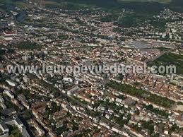 photos aériennes de nancy 54000 le faubourg des trois maisons