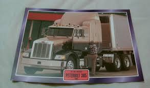 100 Toy Peterbilt Trucks 385 1980 Truck Framed Picture