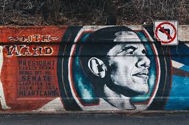 Big Ang Mural Chicago by In Chicago Obama U0027s Legacy Is Visible Bleader