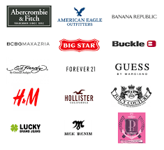 Clothing Brand Logos With Names