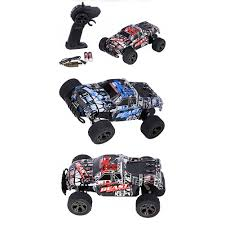 100 Monster Truck Remote Control High Speed 120 30kmh Car RC Electric OffRoad