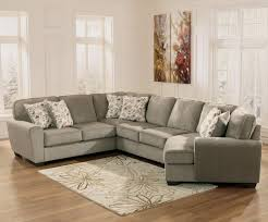 Nebraska Furniture Mart Living Room Sets by Patola Park Patina 4 Piece Small Sectional With Right Cuddler By