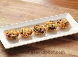 and easy canapes how to canapes recipe by masterchef sanjeev kapoor