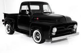 100 Black Ford Truck 1955 Pickup F100 302 Auto FrameOff