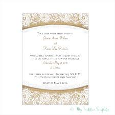 Rustic Burlap And Lace Invitation Template