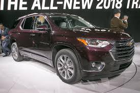 2018 Chevrolet Traverse redesign Automotive News 2018