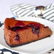 Chocolate Cherry Swirl Cheesecake this recipe swirls a dark sweet cherry pote all throughout
