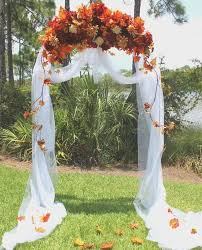Lovable Outside Fall Wedding Ideas Arches And Decorations On