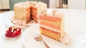 weiße schokolade und rhabarber mousse torte eine prise
