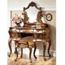 Vanity Mirror Dresser Set by Torian White Vanity Set With Tri Fold Mirror Traditional In