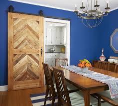 Remarkable Sliding Barn Doors Model For Unique Interior Designs Great Dining Room