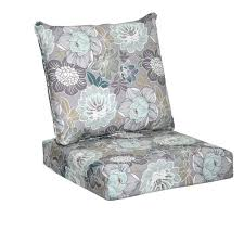 Hampton Bay Patio Furniture Cushion Covers by Hampton Bay Charleston Floral 2 Piece Deep Seating Outdoor Lounge