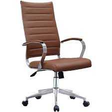 2xhome Black Modern High Back Tall Ribbed PU Leather Swivel ... Heres A Great Deal On Boss Office Products B8991c High Top 8 Most Popular Leather Modern Office Desk Brands And Get Amazing New Deals Chairs Versailles Cherry Wood Back Executive Finished Mahogany Untitled Multi Desk Sears Mid Guest Chair Caressoft Pin By Prtha Lastnight Room Ideas Low Budget Check Out These Major Caressoftplus