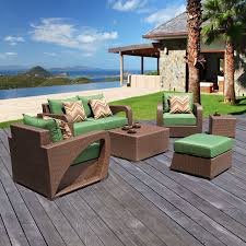 Sirio Patio Furniture Covers Canada by 6pc Outdoor Wicker Seating Set By Sirio Amazon Ca Patio Lawn