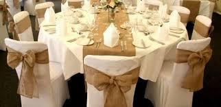 ruban pour noeud de chaise noeuds de chaises en toile de jute par 1 10 50 ou 100 réf