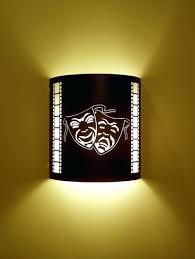 home theater wall sconces lighting design ideas cinema
