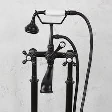 Brushed Bronze Tub Faucet by Penhaglion No 97 Free Standing Tub Filler In Oil Rubbed Bronze