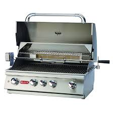 Patio Bistro 240 Instructions by Bull Angus 4 Burner Stainless Steel Built In Propane Gas Bbq