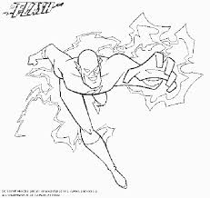The Flash Open Pin For More DC Comics Coloring Pages