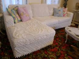 Shabby Chic Sofa Bed And Kitchen
